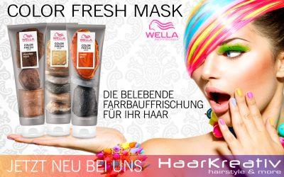Wella Color Fresh Mask: Einfach beim Haarewaschen die Farbe auffrischen